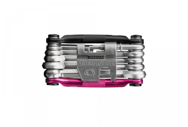 CRANKBROTHERS Multi-Outils M17 17 Fonctions Noir Rose