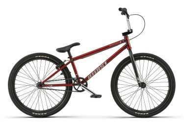 Bmx freestyle wethepeople atlas 24 red metallic 2018