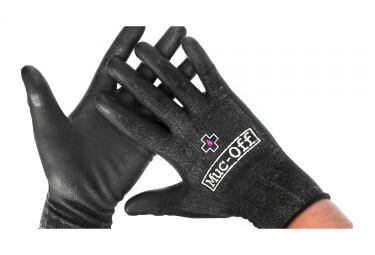 gants d atelier muc off mechanics noir xl