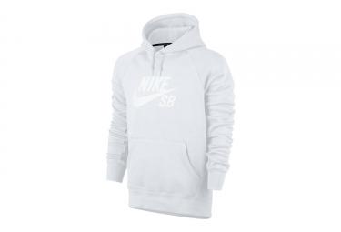 Sweat à Capuche Nike SB Icon Blanc