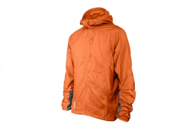 Veste coupe vent poc resistance enduro orange s