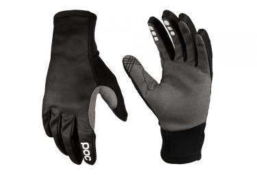 Paire de gants POC Resistance Softshell Noir