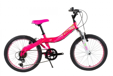 Vtt enfant diamond y20 shimano tourney 6v rose
