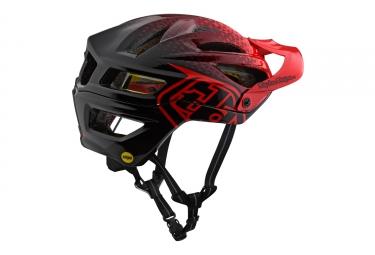 Troy Lee Designs A2 Stardust Mips Casco Rojo Negro