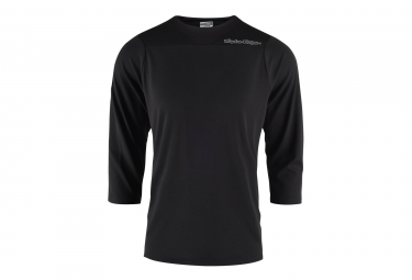 Troy Lee Designs Ruckus Solid 3/4 Sleeves Jersey Black