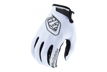 Gants longs troy lee designs air blanc 2018 s