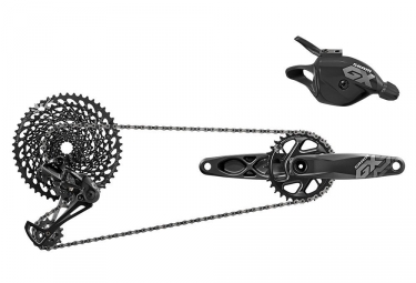 groupe complet sram gx eagle boost 12v sans boitier manivelles 170 mm