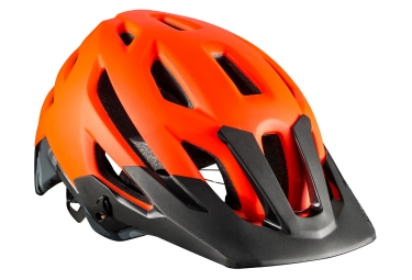 Casque vtt bontrager rally mips orange noir l 58 63 cm