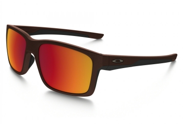 lunettes oakley mainlink metals collection marron rouge iridium ref oo9264 24