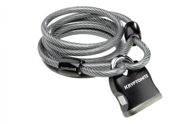 Antivol cable avec cadenas kryptonite kryptoflex 818