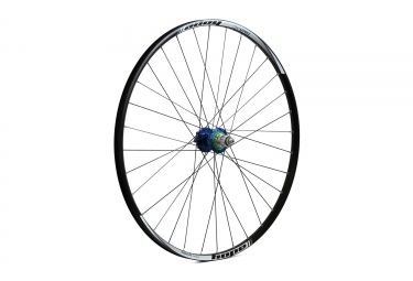 Roue arriere hope tech xc pro 4 29 bleu shimano sram 6 trous 12 x 142 mm