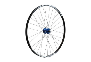Roue avant hope tech xc pro 4 29 bleu 6 trous 15 x 100 mm