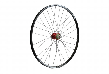 Roue arriere hope tech xc pro 4 29 rouge xd 6 trous 12 x 142 mm