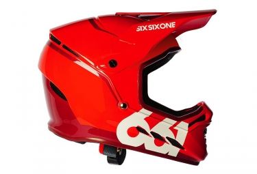 Casque integral 661 sixsixone reset rouge l 60 61 cm