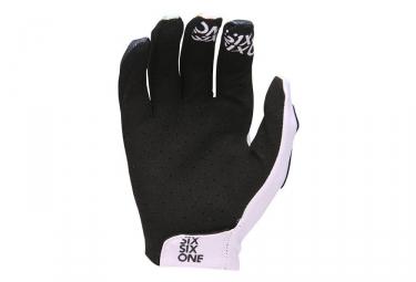 Gants Longs 661 SixSixOne Raji Tropic Blanc