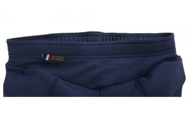 Cuissard Long Sans Bretelles Femme LeBram Iseran Endurance Bleu