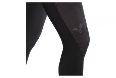 Cuissard Long Sans Bretelles Femme LeBram Iseran Endurance Noir