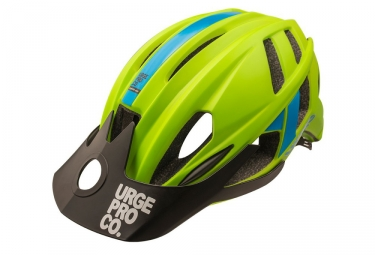 MTB Helmet URGE 2018 TrailHead Green Blue