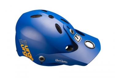 casque vtt urge 2018 all in bleu orange l xl 55 60 cm