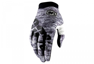 Paire de gants 100 itrack gris heather xl