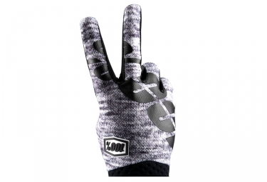 Paire de Gants 100% iTrack Gris Heather
