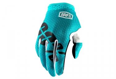 100% iTrack Gloves - Bleu