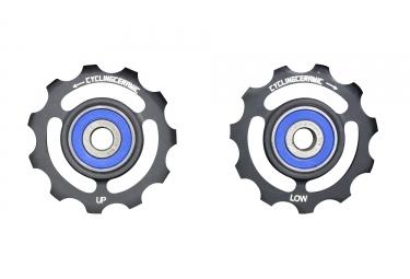 galets cyclingceramic dura ace ultegra 10 11v noir