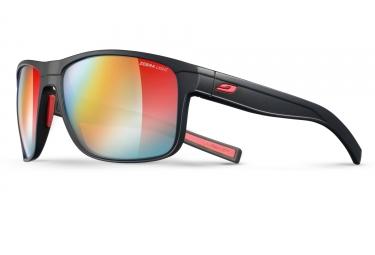 paire de lunettes julbo renegade zebra light noir rouge