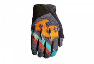 Gants longs 661 sixsixone evo ii gris orange s