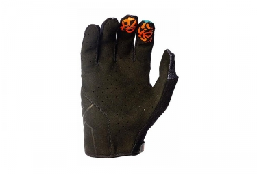 Gants Longs 661 SixSixOne Evo II Gris Orange