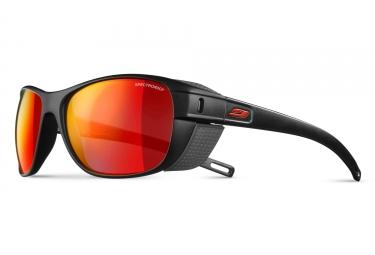 paire de lunettes julbo camino spectron 3cf noir rouge