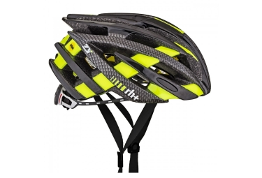 casque zero rh zy black dark carbon bridge yellow fluo xs m