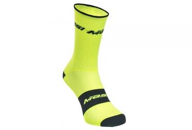 paire de chaussettes massi supra jaune 38 41