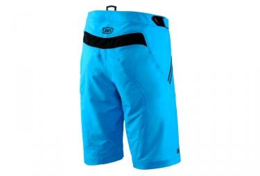 Short avec Peau 100% Airmatic Bleu