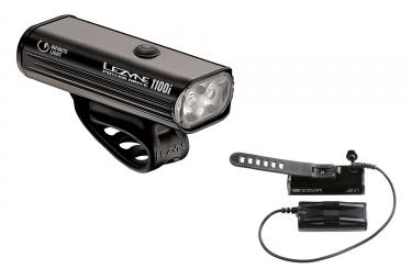 lampe avant lezyne deca drive 1100 avec batterie noir