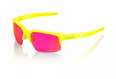 lunettes 100 speedcoupe ll acidulous violet miroir