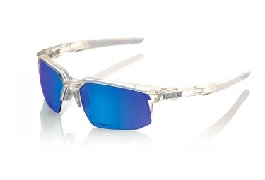 lunettes 100 speedcoupe ll aurora ice miroir