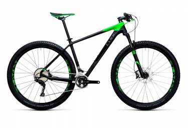 vtt semi rigide cube 2017 reaction gtc race 27 5 shimano xt m8000 11v noir vert 18 p