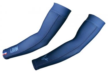 LeBram Thermo Arm Warmers Blue