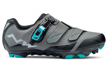 chaussures vtt femme northwave sparkle 2 srs gris bleu 2018 37