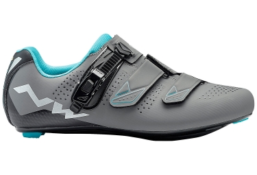 Northwave Verve 2 SRS Women Road Shoes Grey Blue 2018