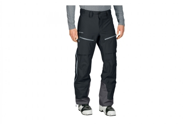 pantalon impermeable vaude back bowl noir 52