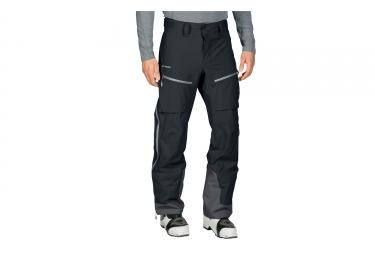 Pantalon impermeable vaude back bowl noir 52