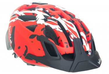 casque bolle the one mtb noir rouge 54 58 cm