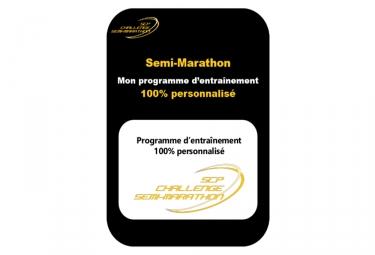 programme d entrainement 100 personnalise semi marathon