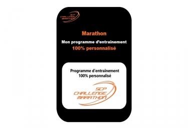 programme d entrainement 100 personnalise marathon