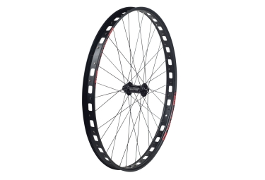 roue avant sunringle mulefut 29 bontrager cl 811 boost noir rouge