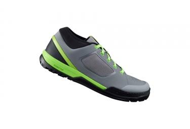Paire de chaussures vtt shimano sh gr700sr gris vert 46