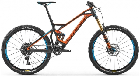 mondraker dune carbon rr full suspension mtb sram x01 27.5 orange black m 167 178 cm - Mondraker