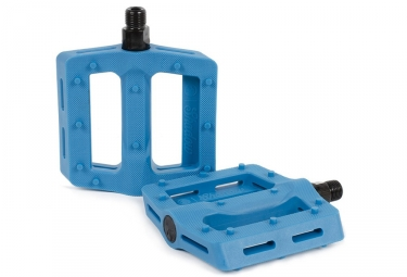 pedales shadow surface bleu